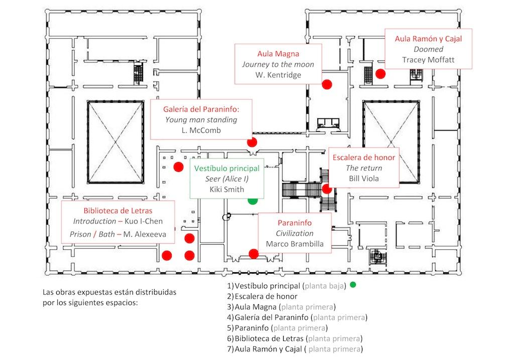 Espacio y obra aproximaci n a un an lisis museogr fico for Como se hace un plano arquitectonico